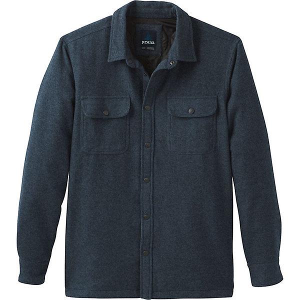 プラーナ メンズ ジャケット&ブルゾン アウター Prana Men's Dock Jacket Grey Blue