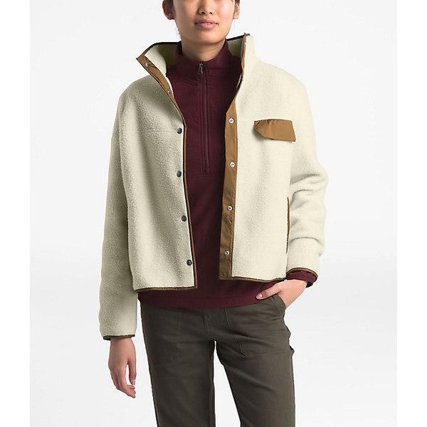 ノースフェイス レディース ジャケット&ブルゾン アウター The North Face Women's Cragmont Fleece Jacket Vintage White / Cedar Brown