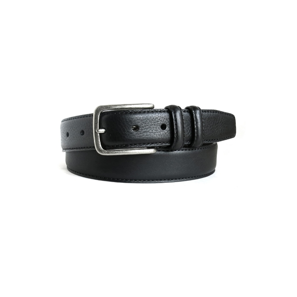 ボコニ メンズ ベルト アクセサリー Boconi Clapton Leather Belt Black