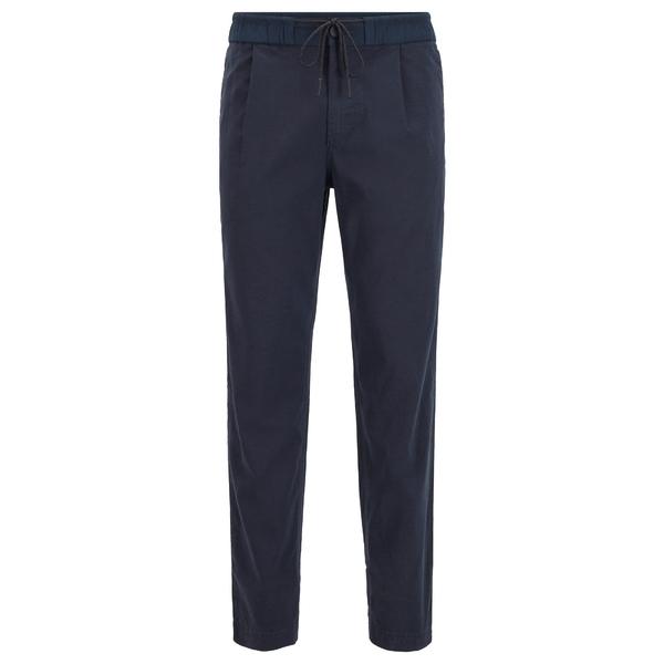 ボス メンズ 年間定番 ボトムス カジュアルパンツ dark blue Trousers vzdf0032 全商品無料サイズ交換 SYMOON - 人気激安