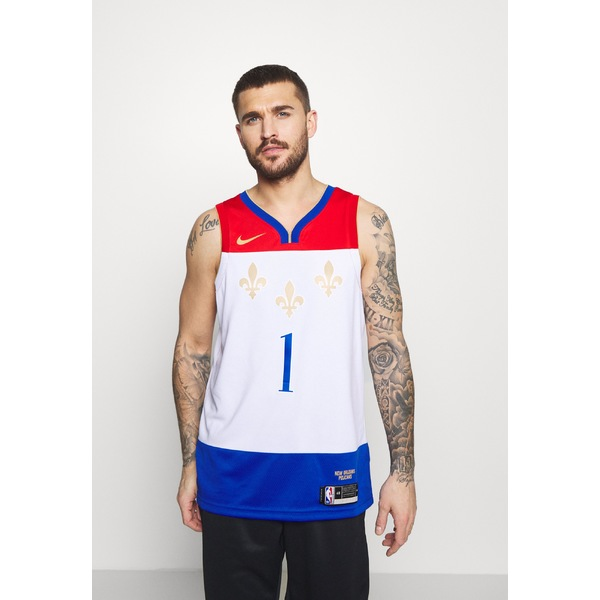 ナイキ メンズ トップス カットソー 最新アイテム white 全商品無料サイズ交換 NBA NEW 交換無料 ORLEANS PELICANS CITY EDITION SWINGMAN WILLIAMSON - ZION vzdf0037 Club wear