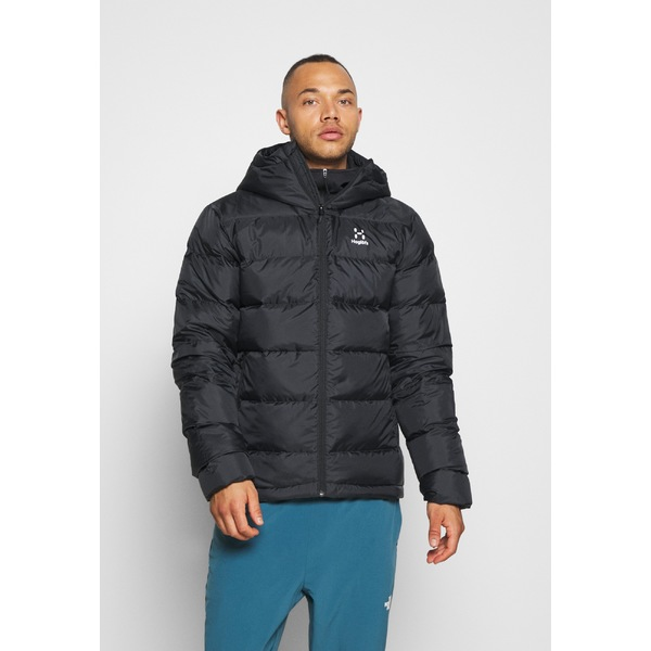 vzdf0039 DOWN BIELD true ジャケット&ブルゾン black jacket - - メンズ Down HOOD アウター ハグルフス