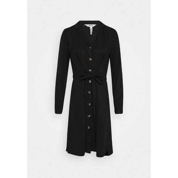 オブジェクト レディース トップス 日本メーカー新品 ワンピース black 全商品無料サイズ交換 OBJTILDA - DRESS 2020秋冬新作 Day dress BUTTON vzdf003b