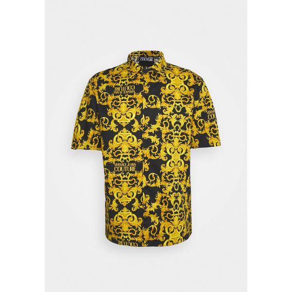 【最安値挑戦】 ベルサーチ メンズ シャツ black トップス LOGO BAROQUE - Shirt LOGO Shirt - black vzdf003f, 戸越銀座の中国料理百番:a87c26dc --- rishitms.com