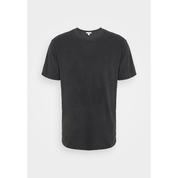 ジェームス パース 爆売りセール開催中 メンズ 大人気 トップス Tシャツ anthracite 全商品無料サイズ交換 POCKET Basic TEE vzdf003f - T-shirt