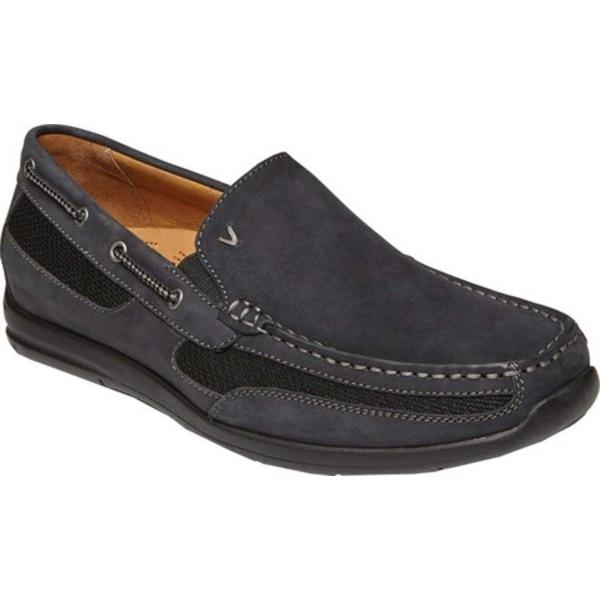 バイオニック メンズ シューズ 期間限定送料無料 限定品 デッキシューズ Black Leather Men's Earl Boat 全商品無料サイズ交換 Shoe