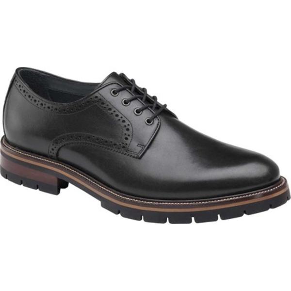 ジョンストンアンドマーフィー [宅送] メンズ 与え シューズ ドレスシューズ Black Full Grain Men's Cody Plain Toe 全商品無料サイズ交換 Oxford Leather