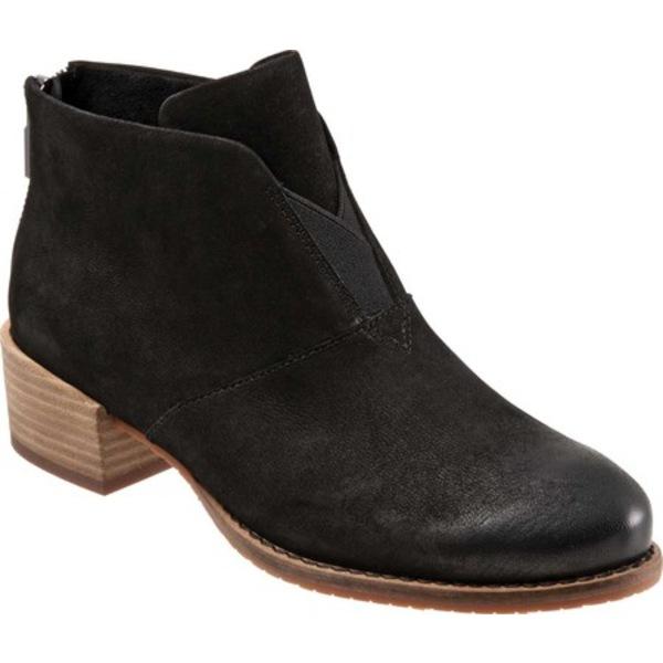Black Nubuck レディース シューズ Burnished (Women's) Ankle Bootie Tilden ソフトウォーク ブーツ&レインブーツ