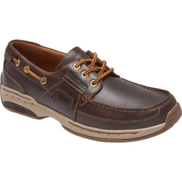 ダナム メンズ シューズ 高価値 デッキシューズ Tan Leather 全商品無料サイズ交換 メーカー再生品 Boat Men's Captain Shoe