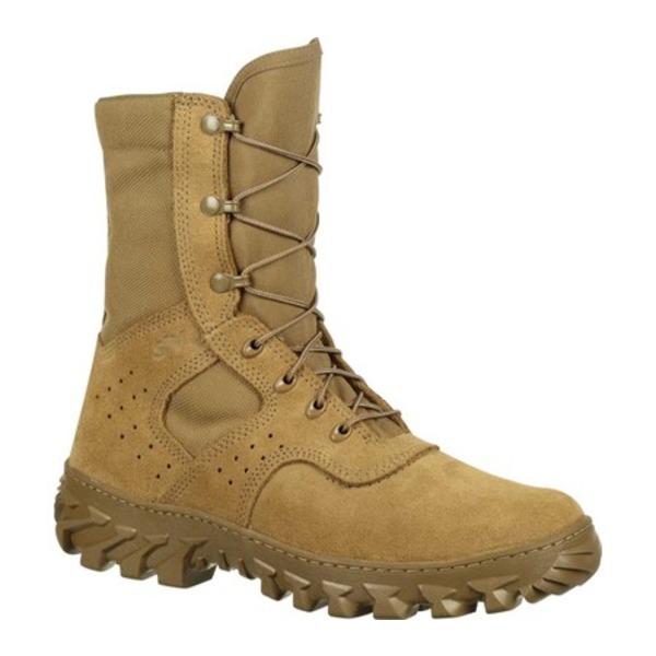 ロッキー メンズ シューズ ブーツ レインブーツ Coyote Brown Leather スーパーセール Cordura Enhanced 授与 S2V Boot 全商品無料サイズ交換 Men's RKC071 Jungle Military