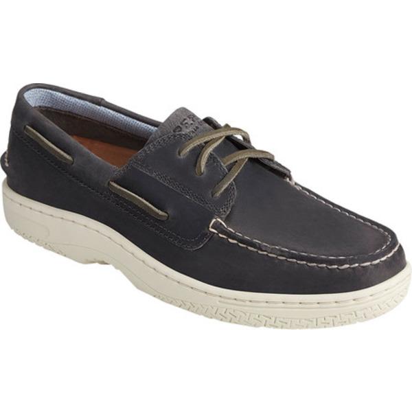 トップサイダー メンズ シューズ デッキシューズ Grey Wild 現品 Horse 爆買い新作 Leather Men's 全商品無料サイズ交換 Billfish Boat PlushWave Shoe