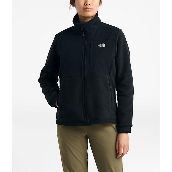 ノースフェイス レディース ジャケット&ブルゾン アウター The North Face Women's Denali 2 Jacket TNF Black / TNF White Logo