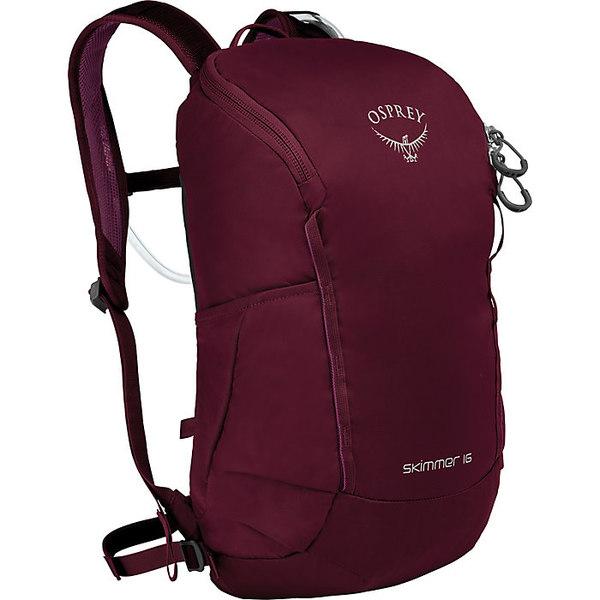 オスプレー レディース バックパック・リュックサック バッグ Osprey Skimmer 16 Backpack Plum Red