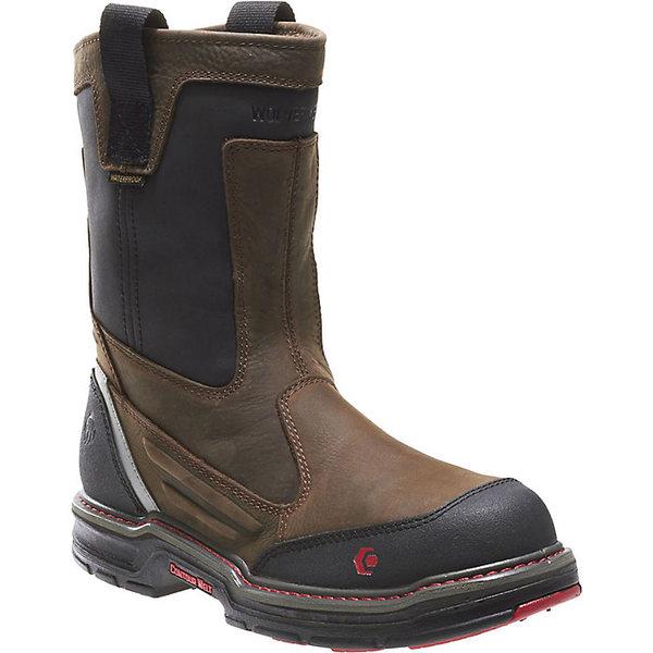 ウルヴァリン メンズ 激安価格と即納で通信販売 シューズ ブーツ レインブーツ Brown Black 全商品無料サイズ交換 NT Wolverine Overman 10 IN Men's 数量は多 Boot
