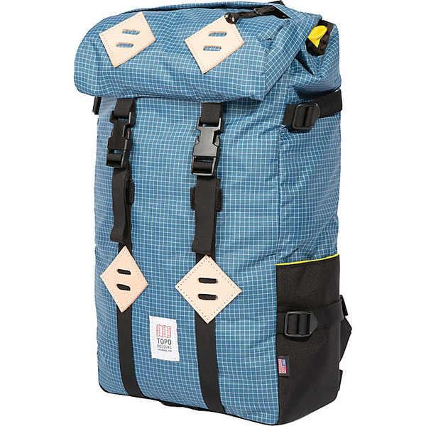 トポ・デザイン レディース ボストンバッグ バッグ Topo Designs Klettersack Bag Blue / White
