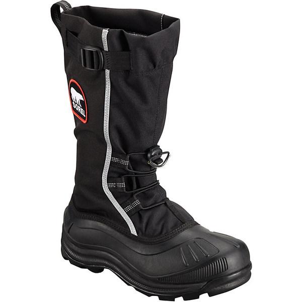 ソレル メンズ ブーツ&レインブーツ シューズ Sorel Men's Alpha Pac XT Boot Black / Red Quar