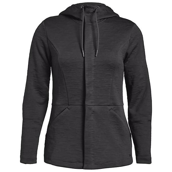 アンダーアーマー レディース ジャケット&ブルゾン アウター Under Armour Women's Outdoor Swacket Charcoal / Black