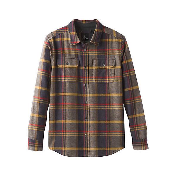 プラーナ メンズ シャツ トップス Prana Men's Lybeck LS Shirt Bronzed