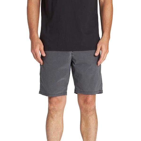 ビラボン メンズ カジュアルパンツ ボトムス Billabong New Order X Overdye Hybrid Shorts Black