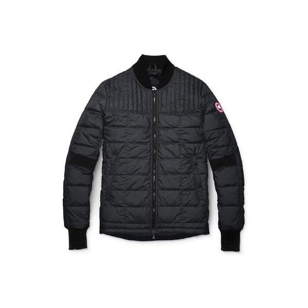 カナダグース メンズ コート アウター Canada Goose Dunham Slim Fit Packable Down Jacket Black