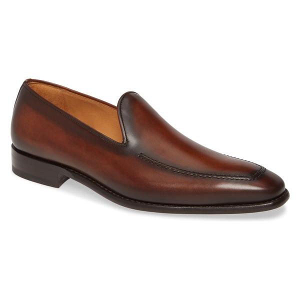 メズラン メンズ スリッポン・ローファー シューズ Mezlan Curtana Slip-On Venetian Loafer (Men) Cognac Leather