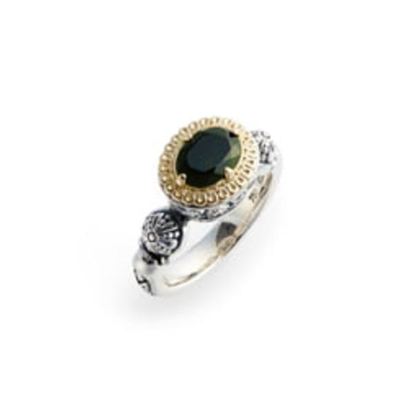 コンスタンティーノ レディース リング アクセサリー Hermione Two-Tone Semiprecious Stone Ring Silver/ Green Tourmaline