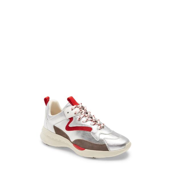 サンクチュアリー レディース スニーカー シューズ Groove Sneaker Silver/ Storm Grey