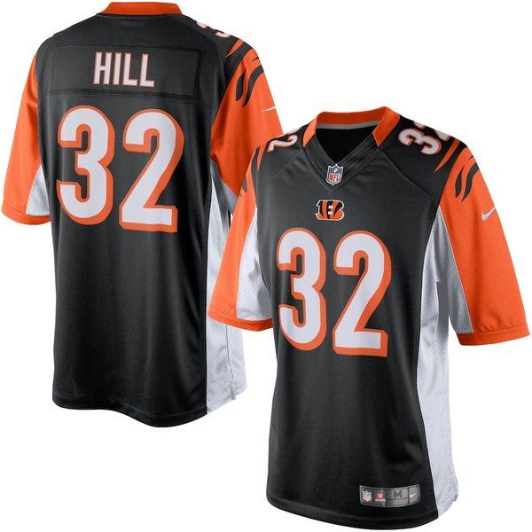 ナイキ メンズ シャツ トップス Jeremy Hill Cincinnati Bengals Nike Limited Jersey Black