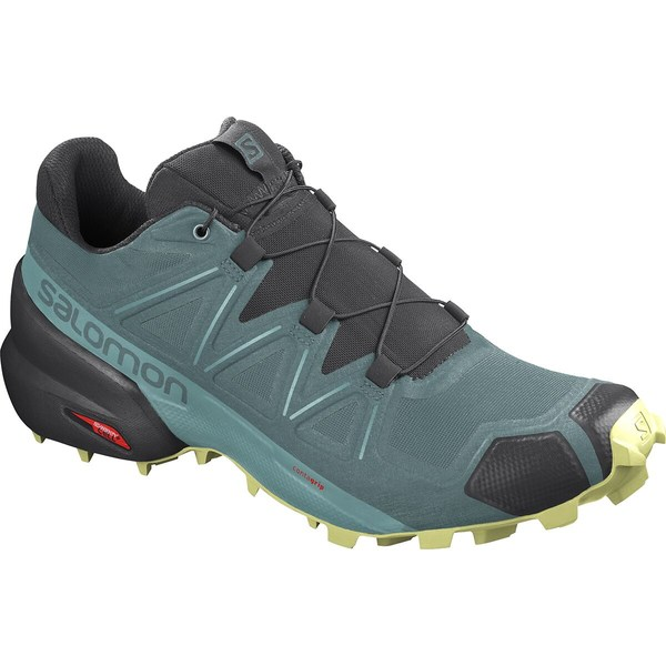 サロモン レディース スニーカー シューズ Speedcross 5 Trail Running Shoe - Women's North Atlantic/Black/Charlock