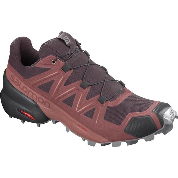 サロモン レディース スニーカー シューズ Speedcross 5 Trail Running Shoe - Women's Apple Butter/Winetasting/Alloy