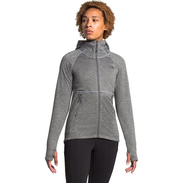 ノースフェイス レディース ジャケット&ブルゾン アウター Canyonlands Hooded Fleece Jacket - Women's TNF Medium Grey Heather