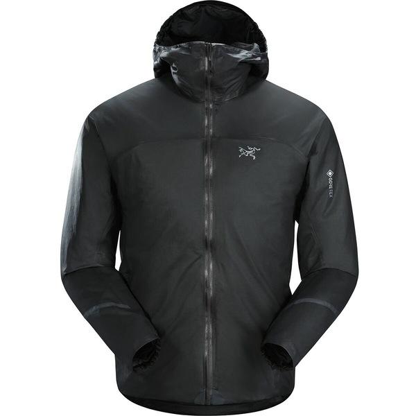 アークテリクス メンズ ジャケット&ブルゾン アウター Norvan SL Insulated Hooded Jacket - Men's Black/Dynasty