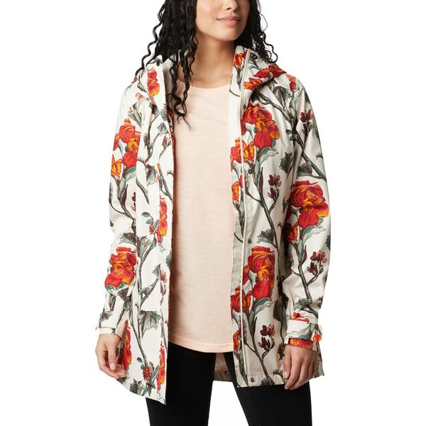 コロンビア レディース ジャケット&ブルゾン アウター Splash A Little II Jacket - Women's Chalk Botanica Print