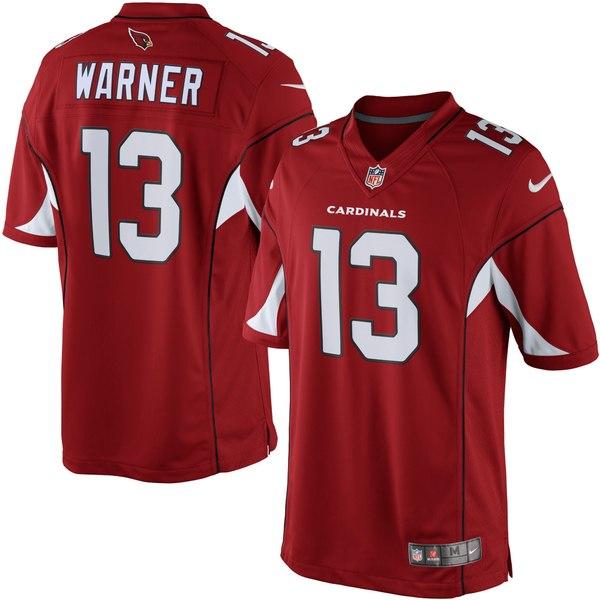 ナイキ メンズ ユニフォーム トップス Kurt Warner Arizona Cardinals Nike Retired Player Limited Jersey Cardinal