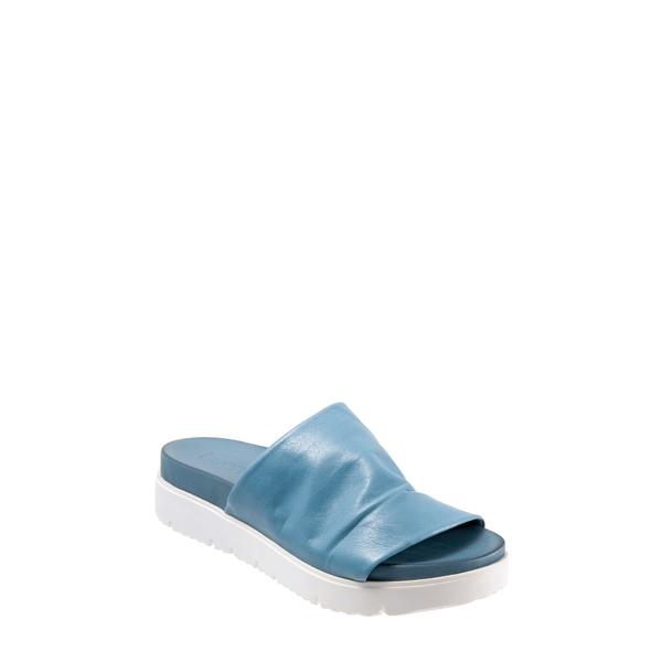ブエノ レディース サンダル シューズ Splash Slide Sandal Denim Leather