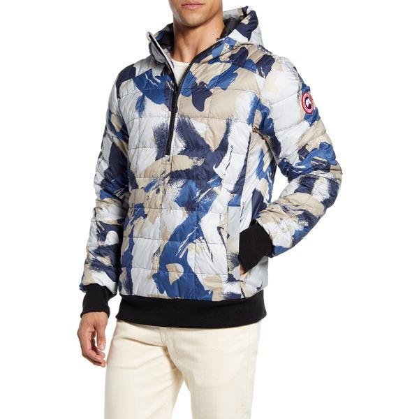カナダグース メンズ ジャケット&ブルゾン アウター Wilmington Packable 675 Fill Power Down Pullover Jacket Free Form Camo