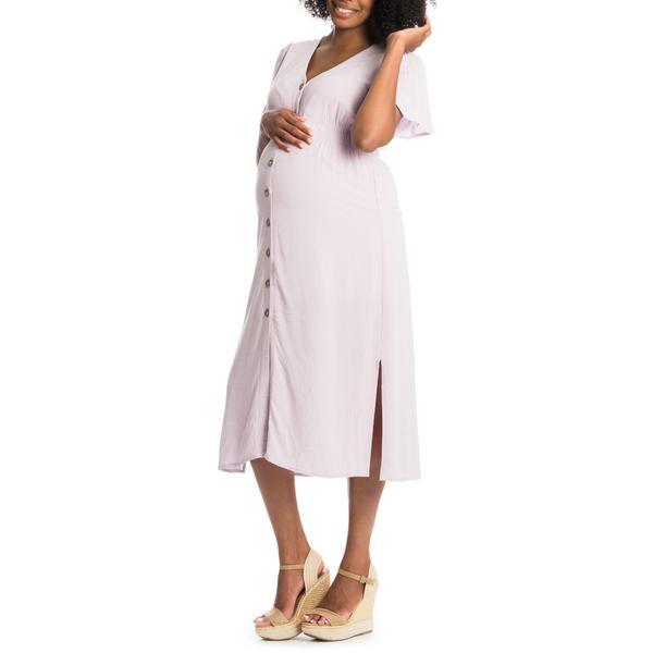 エベリーグレイ レディース ワンピース トップス Ballencia Maternity/Nursing Dress Lavender