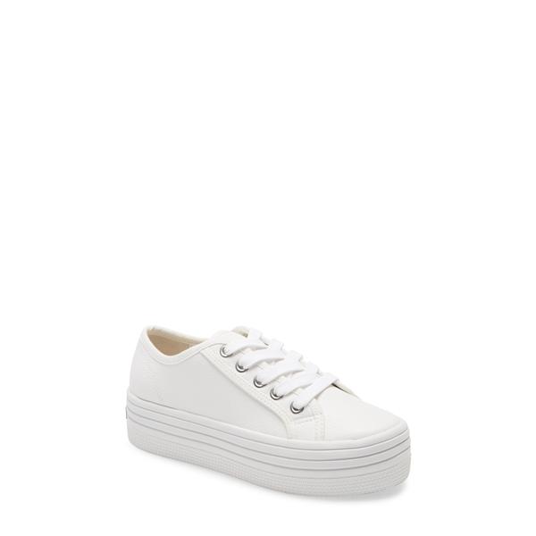 スティーブ マデン レディース スニーカー シューズ Bobbi30 Platform Sneaker White