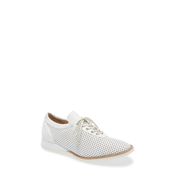 アマルフィーバイランゴーニ レディース スニーカー シューズ Ethan Perforated Sneaker White Leather