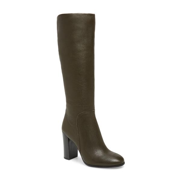 ケネスコール レディース ブーツ&レインブーツ シューズ Justin Water Resistant Knee High Boot Fern Leather