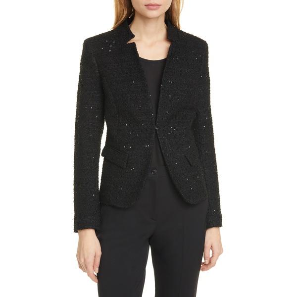 ヘレンベーマン レディース ジャケット&ブルゾン アウター Notch Collar Tweed Jacket Ester Tweed