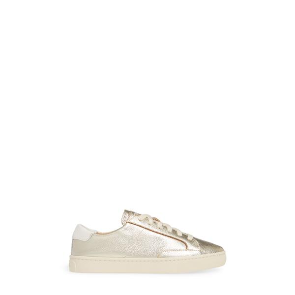 ソルドス レディース スニーカー シューズ Ibiza Metallic Lace Up Sneaker Platinumm8w0Nn