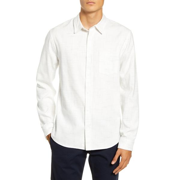 ヴィンス メンズ シャツ トップス Regular Fit Button-Up Flannel Shirt Leche