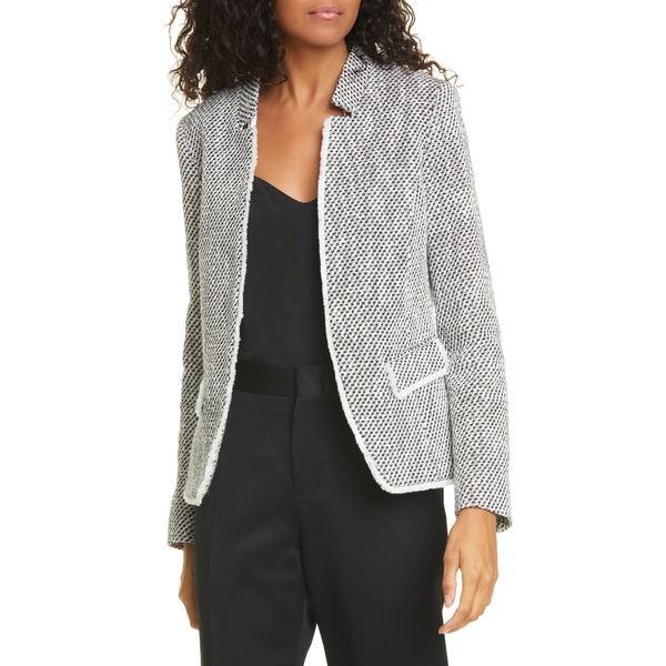 ヘレンベーマン レディース ジャケット&ブルゾン アウター Notch Collar Tweed Jacket Black 7