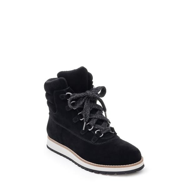 スプレンディット レディース ブーツ&レインブーツ シューズ Potter Lace-Up Boot Black Suede