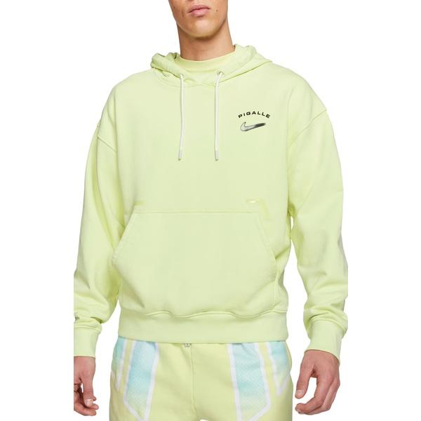 ナイキ メンズ シャツ トップス NRG Pigalle Hooded Sweatshirt Luminous Green