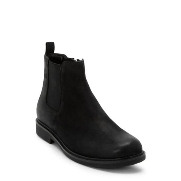 ブロンド メンズ ブーツ&レインブーツ シューズ Grant Waterproof Chelsea Boot Black Nubuck