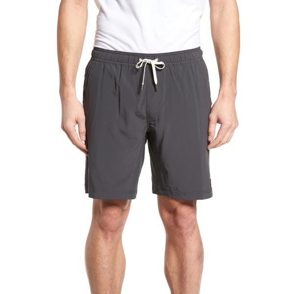 ビュオーリ メンズ カジュアルパンツ ボトムス Kore Shorts Charcoal