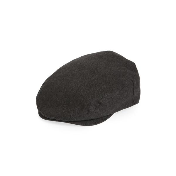 ブリクストン メンズ 帽子 アクセサリー Hooligan III Driving Cap Black/ Black