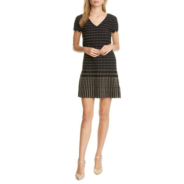 テッドベーカー レディース ワンピース トップス Maciiey Stitch Detail Knit Dress Black